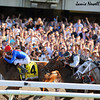 Summer Bird wins the Belmont Stakes