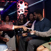 Inside a birthday party bus