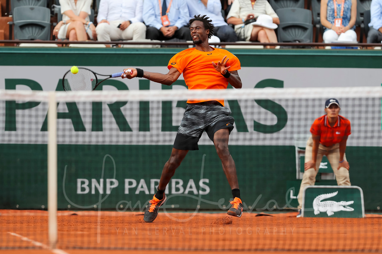 Gael Monfils French Open 2017_03