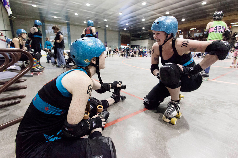 RollerDerby bout