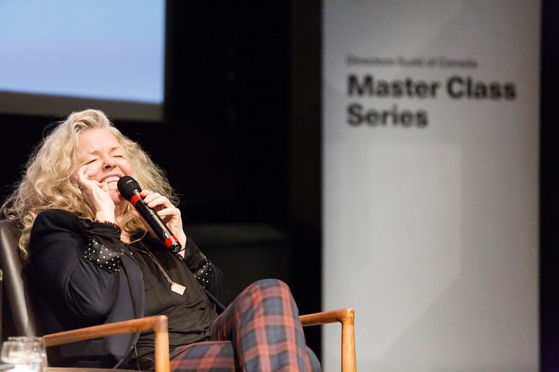 DGC Masterclass Series - Patricia Rozema, director/writer, Mouthpiece