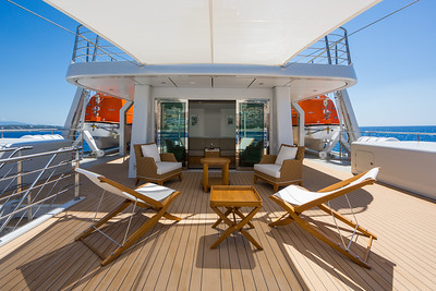 Monaco - On board superyacht Yersin