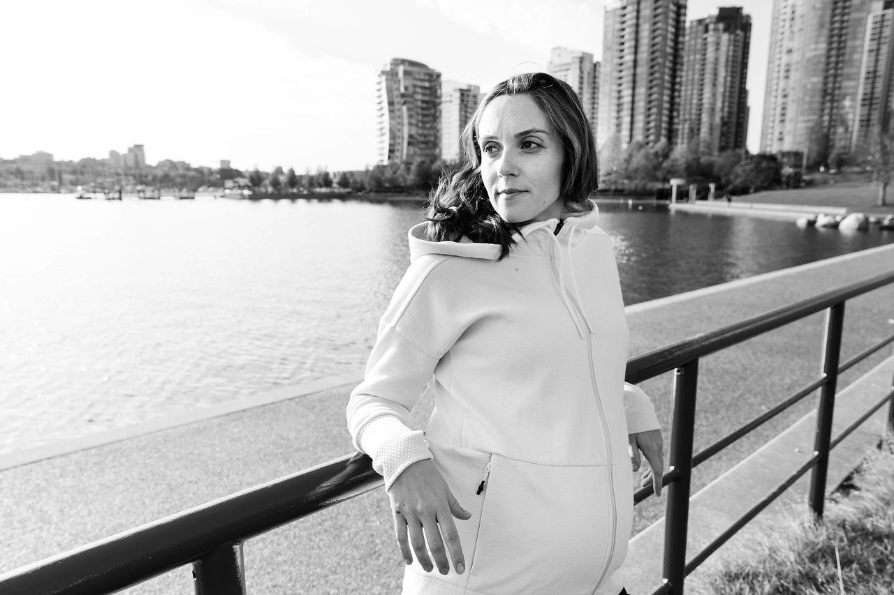 Lifestyle pregnancy session with Fanny