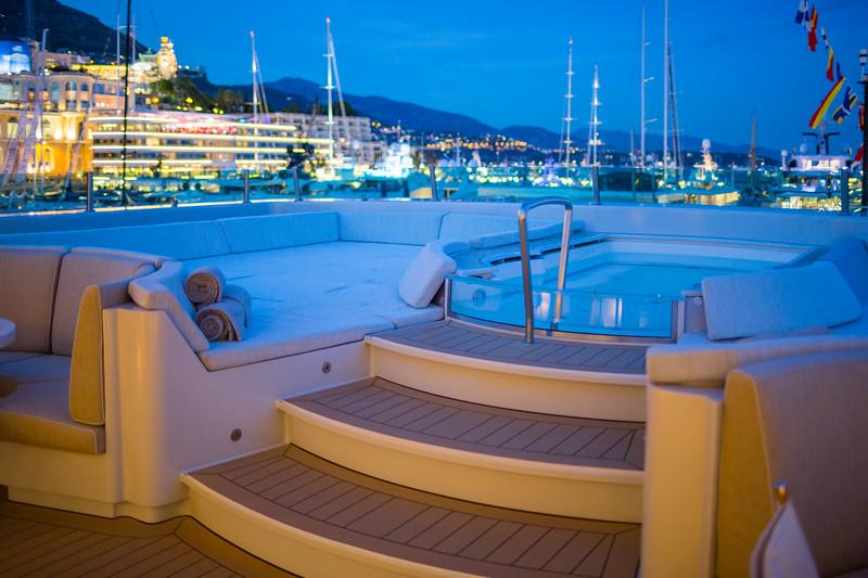 Monaco - On board superyacht Yersin