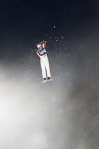Men's Aerials practice, February 25