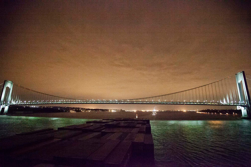 the Rio Madeira arrives in New York by night