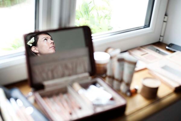 Preparatifs - maquillage