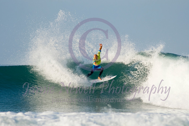 11-time world champion surfer Kelly Slater competes at Lower Trestles during the Hurley Pro in San Clemente, California. 9.2012