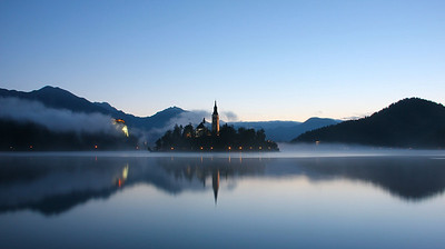 Sunrise, Lake Bled, Slovenia