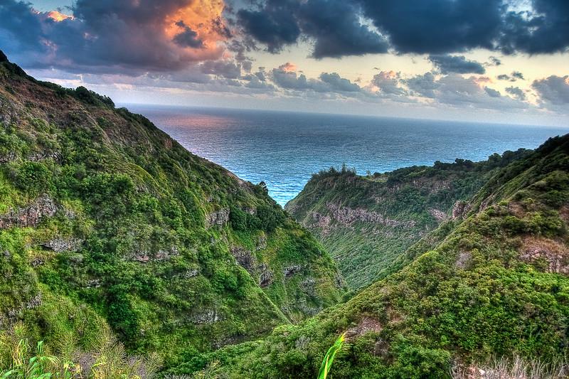 11.28.2009 - Sunrise on the eastside of Maui