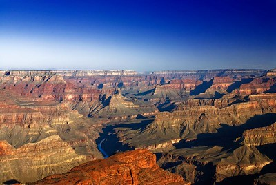 (4.30.2006)  The view west from Hopi Point at the Grand Canyon.