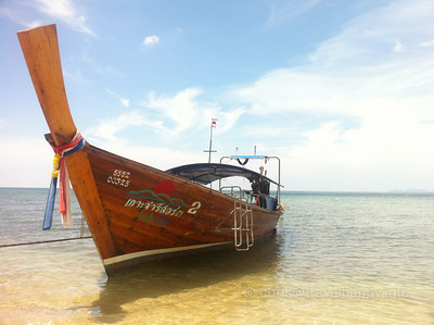 Thailand Longtail boat on Koh Jum