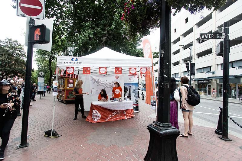 Free street music festival