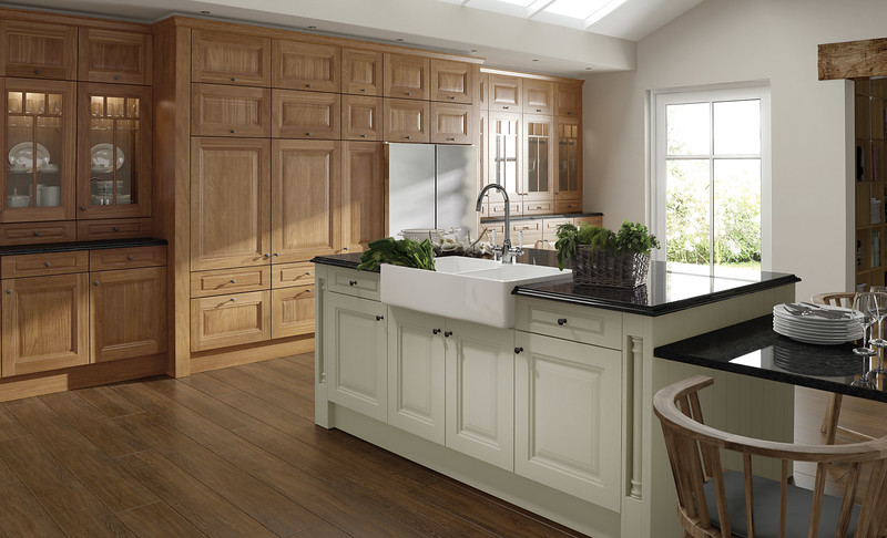 Oak and Ivory combination