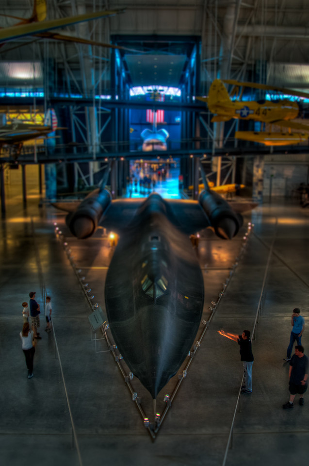 """<h3><strong>Today's Photo: The SR-71 Blackbird</strong></h3> I had a little fun reprocessing some old images. I took this one of the SR-71 """"Blackbird"""" at the Udvar-Hazy center of the Air and Space Museum. I published the first edition in May... <a title=""""The Blackbird"""" href=""""http://justshootingmemories.com/2011/05/14/the-blackbird/"""">The Blackbird</a>. Pretty cool how a few months can change the way you look at something.  This has to be the largest museum I have been to. I don't know many places where there are hundreds of complete planes. They are hanging from the ceiling, lining the floor and even placed under the wings of other planes. Looking at all of these planes side by side just increases the wonder that these things can actually fly.  Read more at the <a href=""""http://justshootingmemories.com"""" rel=""""nofollow"""">Daily Photography Blog</a> Just Shooting Memories!..."""