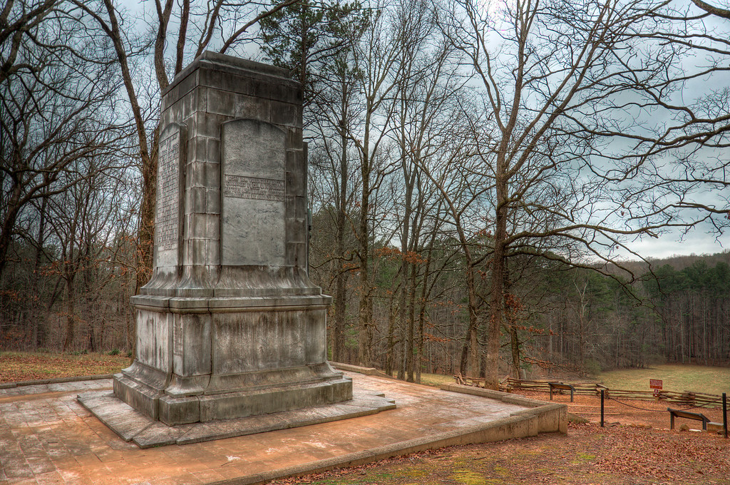 "<h3><strong>Today's Photo:  The Dead Angle</strong></h3> One of the best parts of working on the Silent Guns of the South series is really getting to know the history of our country.  I ran across the Illinois Monument completely by design.  However, I got a surprise with where the monument was located on the Kennesaw Mountain Battlefield.  Not thirty feet up hill from this monument is the ""Dead Angle"".  Almost 150 years ago, both sides fought bitterly over the ground that I was standing on.  Nearly an entire Union Brigade was annihilated during the assault on this position and Confederate line still held.  Visiting these sights reminds me of the sacrifices that have been given to make this country great.  Read more at the <a href=""http://justshootingmemories.com"">Daily Photography Blog</a> Just Shooting Memories!..."