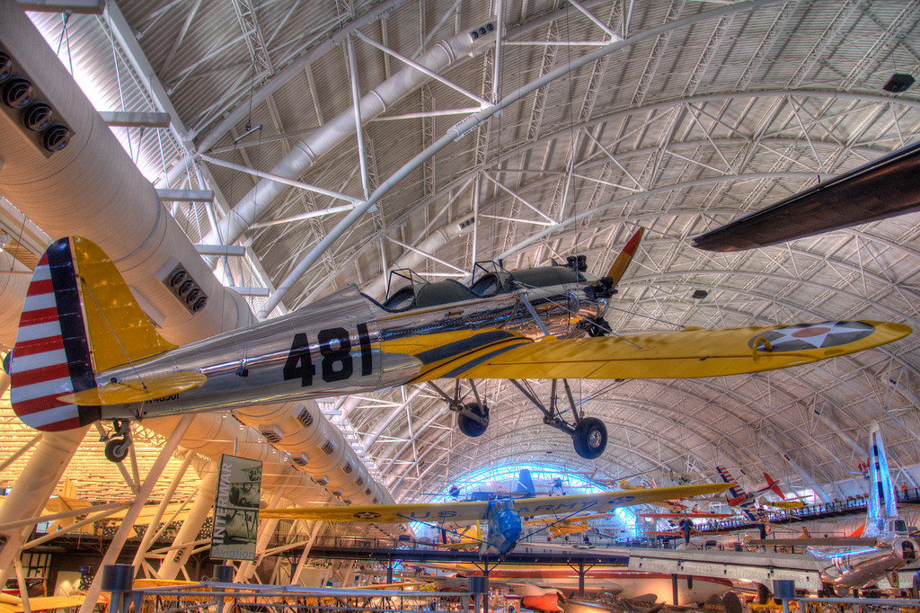 "<h3><strong>Today's Photo:  Ryan PT-22A Recruit</strong></h3> I made it to the Smithsonian's Air and Space Udvar-Hazy center for a few hours last year.  There was so much, that the little time I spent there was definitively not enough.  In fact, I was only able to make it through about 1/4 of all the exhibits before I was ushered out at the closing bell.  Maybe I will get to go back there pretty soon, but, like everything else, I have some great plans that end up being taken over by other plans.  Read more at the <a href=""http://justshootingmemories.com"">Daily Photography Blog</a> Just Shooting Memories!..."