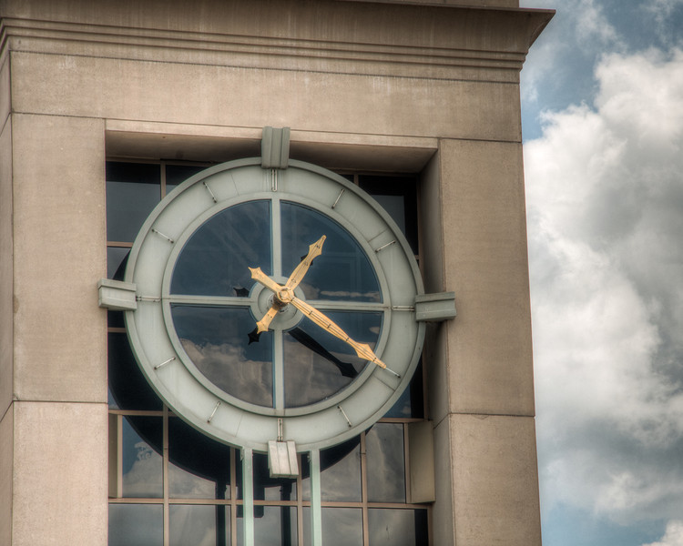 """<h3><strong>Today's Photo: The Clock Tower</strong></h3> Most of the stories that I have heard about clock towers while growing up are usually not that good. When I say that, I don't mean the stories themselves, but what the story is about. Most of the time, it is about someone going crazy and picking the most elevated position to execute mass casualties on a community. However, there is one story which I want to hear and can not get the person to tell it to anyone. It ends with a mule at the top of the tower. How it got there, only a few know. Maybe someday, the story will be told.  Read more at the <a href=""""http://justshootingmemories.com"""">Daily Photography Blog</a> Just Shooting Memories!..."""