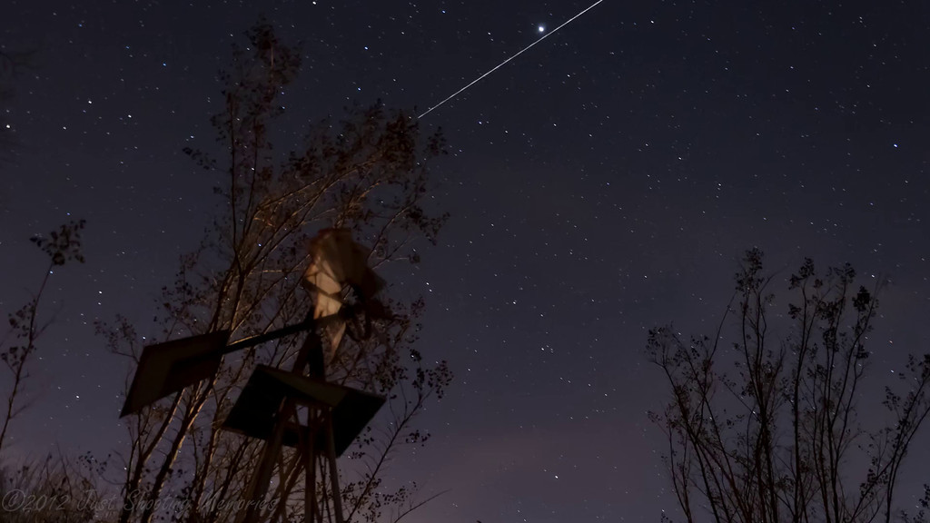 """<h3><strong>Today's Photo (Video): The Drift of Orion</strong></h3> I was walking around the house the other evening and was greeted by this wonderful sight of the stars. It was so clear I was able to see so much. I decided to set up the camera for a time lapse and see what I could. I knew Jupiter was up in the sky and Orion was perfectly clear. Having no idea what the weather would bring, I dressed the camera up all nice and neat and put it out for a little while. I was pleasantly surprise to see this once it was complete.  Read more at the <a href=""""http://justshootingmemories.com"""">Daily Photography Blog</a> Just Shooting Memories!..."""