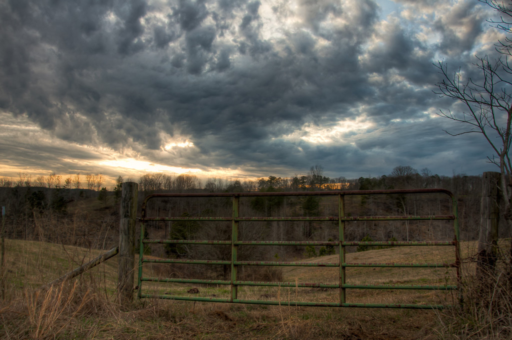 "<h3><strong>Today's Photo:  Clouds After the Storm</strong></h3> I found these clouds right at sunset and just after a pretty good long storm broke up.  This has been one of the craziest winters I can remember.  I don't know of any other that has gone back and forth between 30's and 70's plus.  We have not had the first flake of snow, which drives me crazy.  However, we have had tons of rain.  No one can claim that we are having a drought right now.  It will take a long time this summer to make the water table drop.  I just hope that we have at least one good snow before spring and summer get here.  Read more at the <a href=""http://justshootingmemories.com"">Daily Photography Blog</a> Just Shooting Memories!..."