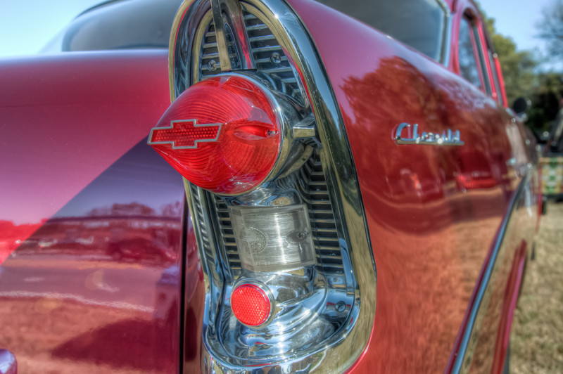 """I took another time lapse of the stars the other night. I put it on SmugMug and am trying to get it to work with Wordpress. Hopefully that will be tomorrows post. <h3><strong>Today's Photo: Tail Lights</strong></h3> Since I posted a photo of an old car several days ago, I thought I would put one up of some car detail. This was from a '57 (I think) Chevy. Having gone to several car shows this year, I thought the details on this one were great. I had not seen tail lights like these before.  Read more at the <a href=""""http://justshootingmemories.com"""" rel=""""nofollow"""">Daily Photography Blog</a> Just Shooting Memories!..."""