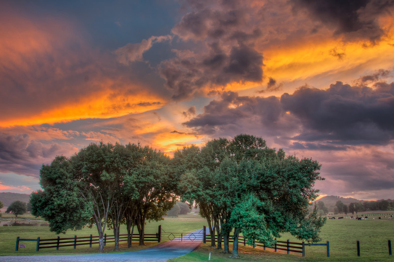 """<h3><strong>Today's Photo: Colorful Sunset</strong></h3> It has been a while since I spent a dedicated trip photographing the sunset. I was fortunate enough to visit with my In-laws the other night. They were excited enough to spend time with the kids that I was able to take about an hour for some good sunset photos. In an attempt to make the best use of time, I consulted my LightTrac app for the iPhone. I had an idea to go back to <a title=""""The Guarded Gate"""" href=""""http://justshootingmemories.com/2011/11/18/the-guarded-gate/"""">The Guarded Gate</a> and needed to make sure the sunset angle would be what I wanted. I was rewarded for my effort and enjoyed quite a long time photographing the sunset. In fact, I was able to put adefinitetime to """"soon"""". For me, """"soon"""" is about thirty minutes.  Read more at the <a href=""""http://justshootingmemories.com"""">Daily Photography Blog</a> Just Shooting Memories!..."""