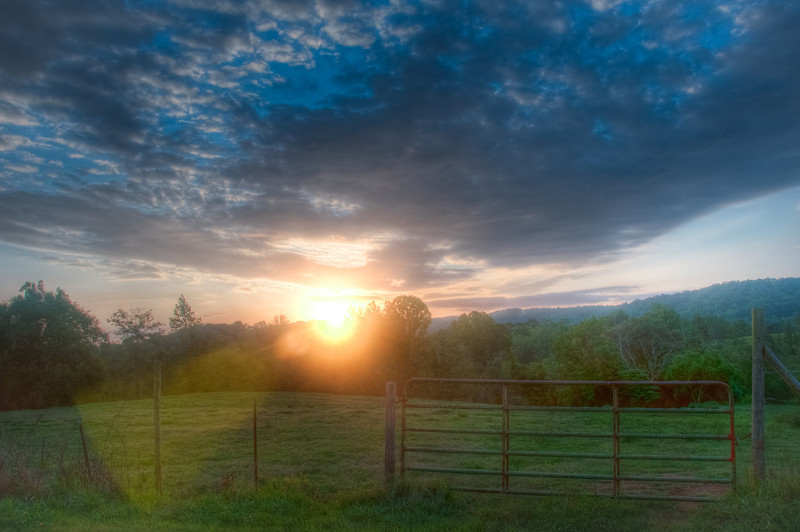 """<h3><strong>Today's Photo: Morning Light</strong></h3> I love sunrise. It is so much fun to get up early, I am an early riser most of the time, get into place to take some morning shots and then watch the sun gradually warm the sky. I wish this had been from a recent sunrise outing, but all I have seen when passing this place lately is pitch black. I guess the trade off or the pitch black mornings is the ability to just about time sunset right. In fact, I was able to do just that yesterday. Hopefully, I will have some time to process them.  Read more at the <a href=""""http://justshootingmemories.com"""" rel=""""nofollow"""">Daily Photography Blog</a> Just Shooting Memories!..."""