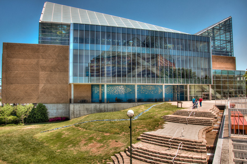 """<h3><strong>Today's Photo: The Ocean Journey</strong></h3> Before this past fall, I had been to the Tennessee Aquarium a handful of times. Since then, we have been back numerous times. One of the first things I saw and wanted to shoot was the Ocean Journey building. I tried getting it in just the right light over the last several months, but just did not seem to be able to make it work. About a month ago, I was finally able to get the lighting just the way I wanted. There were not clouds, but that is not always what it is about. Sometimes you just have to work with what you have.  Read more at the <a href=""""http://justshootingmemories.com"""">Daily Photography Blog</a> Just Shooting Memories!..."""