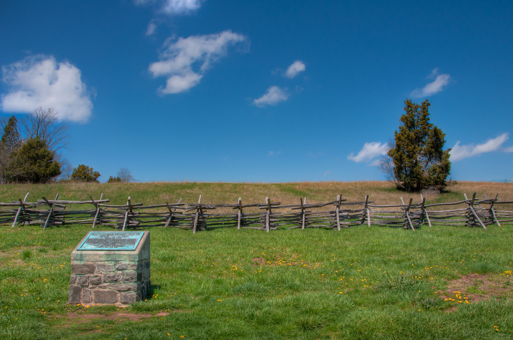 "<h3><strong>Today's Photo:  Just A Hill?</strong></h3> I had the pleasure of spending a few hours at the Manassas Battlefield Park.  I spent time on Henry Hill and then went to the stone house.  In our times of excess and overabundance, it is hard to believe only 150 years ago, your average american lived in these small houses.  One of the most interesting things I learned while visiting was that most battles had two names.  First Manassas or Bull Run has to be one of the most famous of the battles with two names.  I learned that the South named battles after nearby cities or towns and the North named them after creeks, rivers or other natural object nearby.  This hill is located just beyond the Stone House if you look at it from Henry Hill.  I can imagine the soldiers cresting this hill an seeing a wall of bayonet tipped rifles just a few yards away.  It is crazy to think they would have just stood there in lines firing at each other.  Read more at the <a href=""http://justshootingmemories.com"">Daily Photography Blog</a> Just Shooting Memories!..."