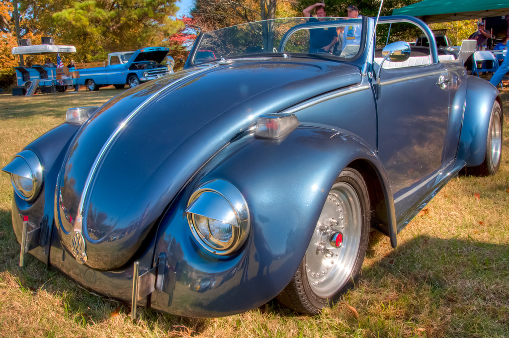 "<h3><strong>Today's Photo:  A Dead Head Beetle</strong></h3> I have been too busy this year to make it to as many car shows as I would have liked.  I found this little bug at the last show I went to last year.  I could not decide whether it looked like a <a title=""The Vampire Bug"" href=""http://justshootingmemories.com/2011/11/07/the-vampire-bug/"">vampire bug</a> or just a ""high"" car.  Judging by the Dead Head as the front emblem, I would tend to lean toward the latter.  Hopefully, I will be able to make it to at least one more car show this year.  Read more at the <a href=""http://justshootingmemories.com"">Daily Photography Blog</a> Just Shooting Memories!..."