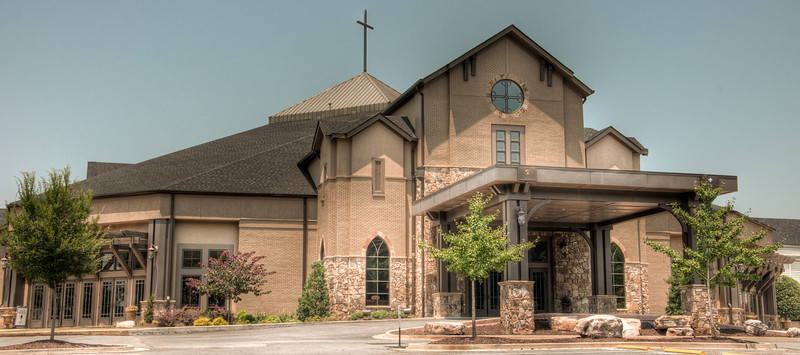 """<h3><strong>Today's Photo: Piedmont Church</strong></h3> Today is another of my church series. I was driving in the East Cobb a little while back when I ran across several cool looking churches. I made a point of going back by when I had a little more time. It was probably not the best time that I chose because I had just finished running the <a title=""""Firebreather Challenge"""" href=""""http://www.firebreatherchallenge.com/"""" target=""""_blank"""">Firebreather Challenge</a>, a six and a half mile obstacle course. It was still a lot of fun, both the race and taking photos, but it made for a long day. This shot is of the Piedmont Church which is along Piedmont Road somewhere around Marietta Georgia.  Read more at the <a href=""""http://justshootingmemories.com"""">Daily Photography Blog</a> Just Shooting Memories!..."""