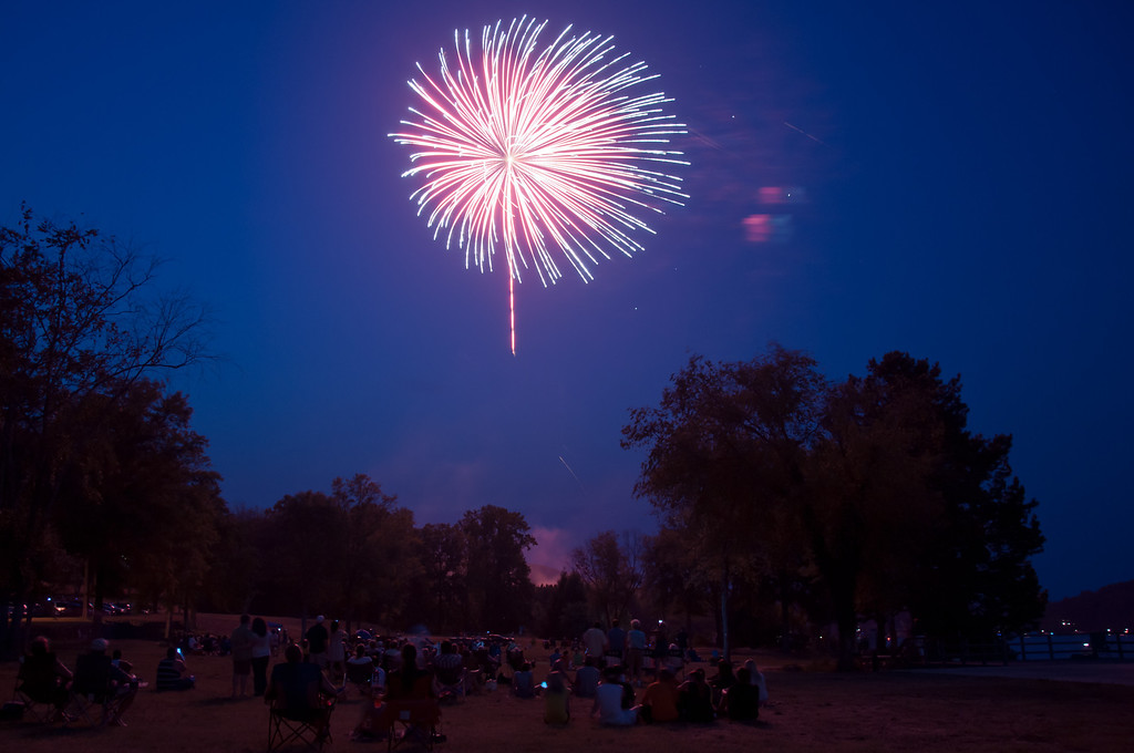 "<h3><strong>Today's Photo:  Lake Arrowhead Fireworks</strong></h3> The annual Lake Arrowhead Firework show was July 1st this year.  I was fortunate enough to make it and get a few shots.  Unfortunately, I did not get set up in time and then, where I set up was in the wrong place.  Just as the show was starting, I had to grab the tripod and run to another location.  Hopefully, by the time everyone is reading this, I will have gotten some good shots of the fireworks at Pops on the River in Chattanooga.  Happy Birthday United States of America and happy July 4th to everyone out there.  Read more at the <a href=""http://justshootingmemories.com"">Daily Photography Blog</a> Just Shooting Memories!..."