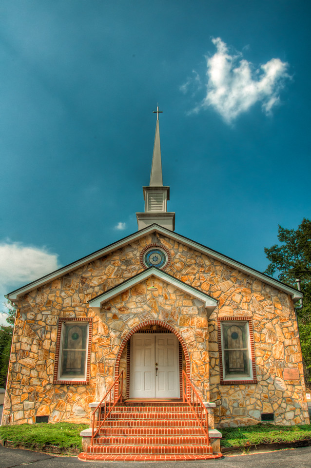 "<h3><strong>Today's Photo:  A Little Church</strong></h3> I have been doing good keeping up with my series of churches.  I hope I don't run out soon though.  You never know if you will be able to find enough churches in the south.  I don't remember the name of this church.  It is just a small building and can't have more than one room.  I found it on a back round off Highway 411 in Georgia.  I am doing better at taking photos of the signs or descriptions of what I am photographing, but this one slipped by.  Read more at the <a href=""http://justshootingmemories.com"">Daily Photography Blog</a> Just Shooting Memories!..."