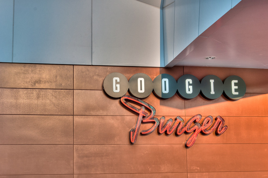 "<h3><strong>Today's Photo:  Googie Burger</strong></h3> In the middle of Centennial Olympic Park in Atlanta is a little place called Googie Burger.  I have a habit of finding these little out of the way holes in the wall.  Usually they turn out pretty good.  Sometimes, they are not so good.  I kinda wished we had eaten here, but <a title=""McCormick and Schmicks"" href=""http://justshootingmemories.com/2012/02/23/mccormick-and-schmicks/"">McCormick and Schmicks</a> was not too bad.  It may have been that it was January, but there were not too many people here.  With a name like Googie Burger, I has to be good.  Right?  Read more at the <a href=""http://justshootingmemories.com"">Daily Photography Blog</a> Just Shooting Memories!..."
