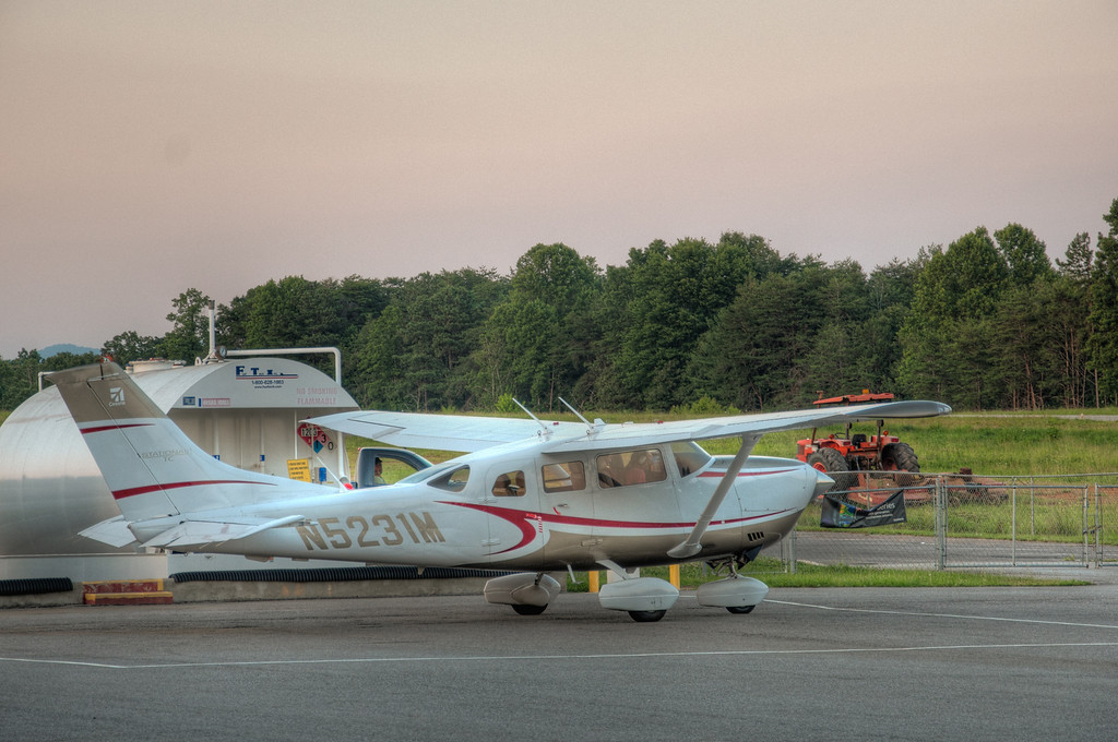 "<h3><strong>Today's Photo:  Systems Check</strong></h3> I was at one of our local airports the other day just around sunset.  A plane had landed, fueled up and was just getting ready to take off.  I sat and watched for several minutes as the pilot went through his pre-flight checks.  I love flying in small planes like this one.  There is such a freedom to it.  Just after this, the pilot taxied out to the runway and flew off into the evening.  I had someone tell me about a book called the $100 dollar hamburger one time.  It is a list of places to fly to for a hamburger.  I would be just fine taking the plane up and returning here to get that hamburger.  Read more at the <a href=""http://justshootingmemories.com"">Daily Photography Blog</a> Just Shooting Memories!..."