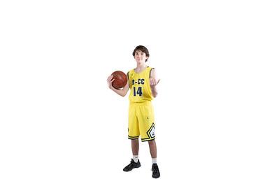 12/3/2018 - B-CC Boys & Girls Basketball Portraits, ©2018 Jacqui South Photography