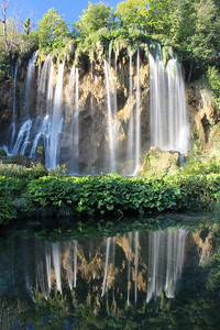 Waterfall, Plitvice