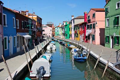 Canal, Burano, Venice