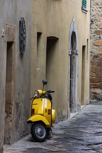 Vespa, Cortona, Italy