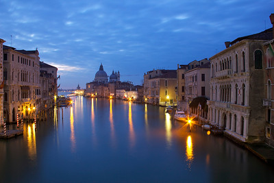 Early morning view from Academia, Venice