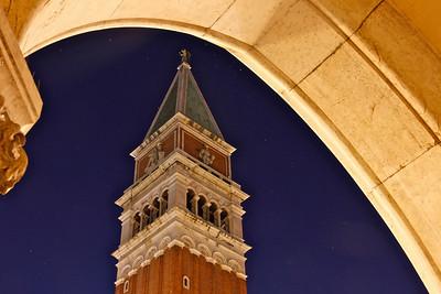 Campanile tower, San Marco's square, Venice