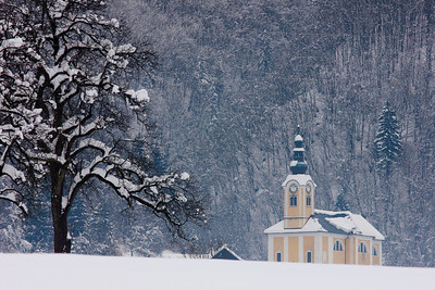 Church at Studor, Slovenia