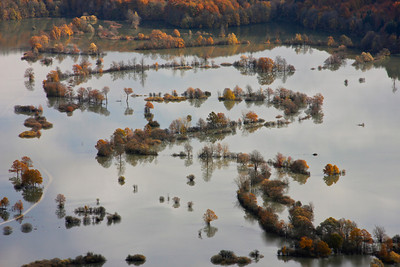 Flood plains, Unec, Slovenia