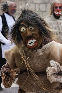 The scared one, Cerkno carnival