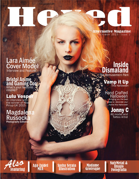 Hexed Magazine Issue 2 October 2015 1