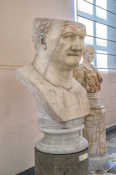 At the Naples National Archaeological Museum.
