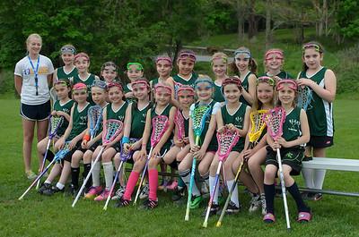 Garrison Girls Lacrosse Team 2014