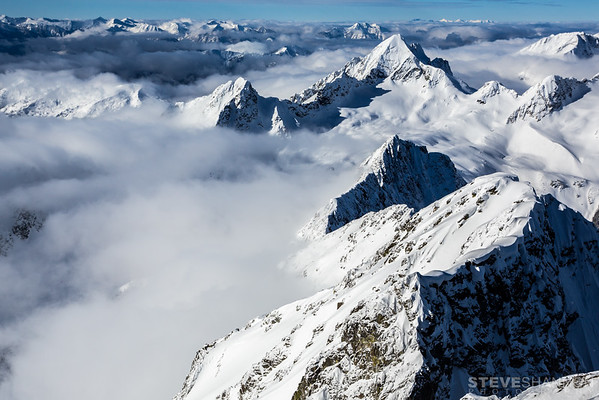 Whitewater Mountain and the Goat Range, Selkirk Mountains, British Columbia