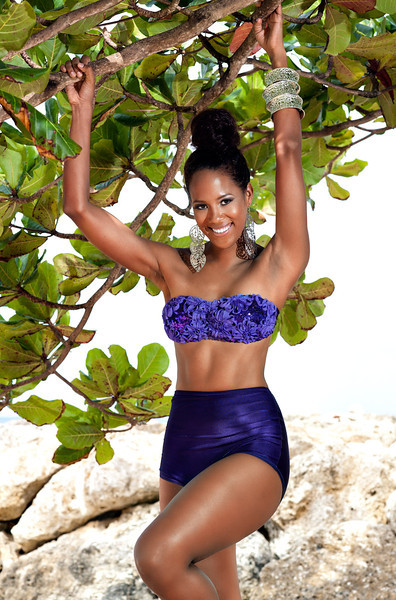 Designer and Stylist: Shelneil of Barbados<br /> Makeup and Hair: Sherry-Ann Moore<br /> Location: Speightstown, Barbados
