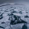 Artic ice flows